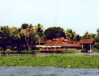 Kumarakom-Lake-Resport-in-Kerala,-southern-India