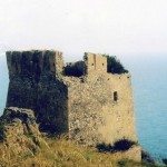 Rienzo Coastal Watchtower, Cetraro, Calabria, southern Italy where The Inheritance is set.