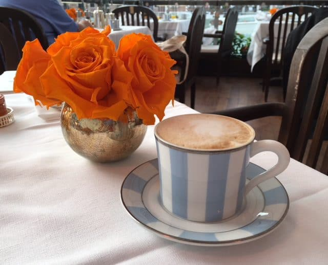 Morning cappuccino, Venice, Italy.