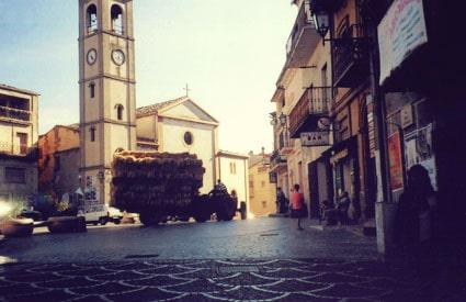 Cetraro, Calabria train station view