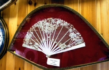 Lace fan on Burano