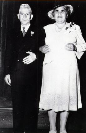 Nana Caterina and Nonno Pietro