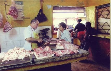 Local market in Havana, Cuba