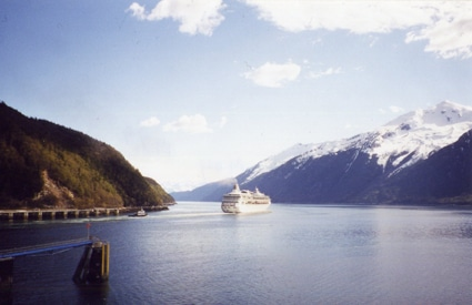Alaskan cruise through the Inside Passage