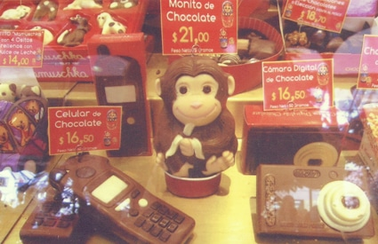 Chocolate shop in Bariloche, Argentina
