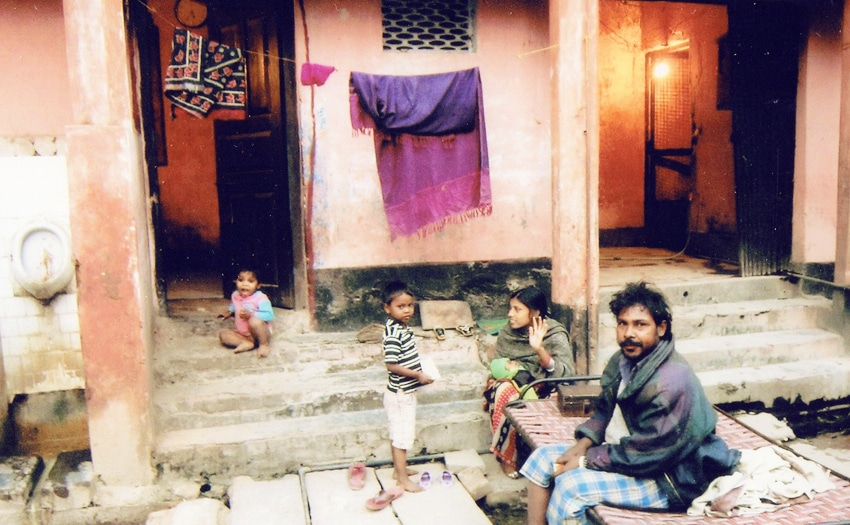 Poverty in Varanasi, India