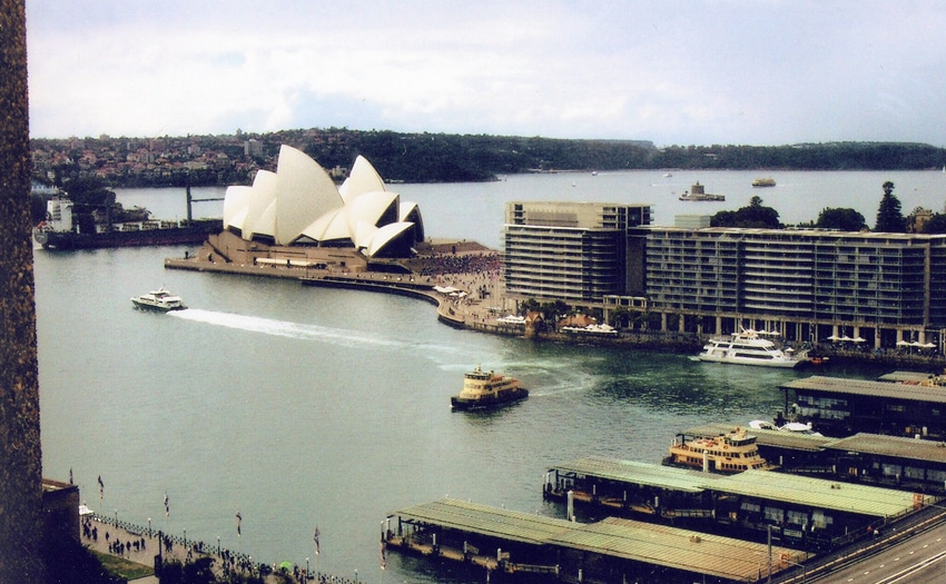 The Sydney Opera House in New South Wales, Australia