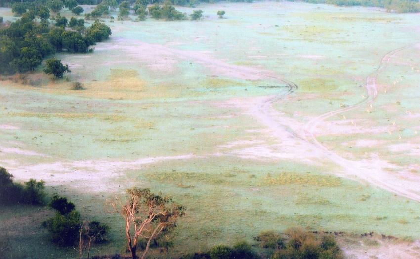 Hot-air balloon ride over Masai Mara, Kenya