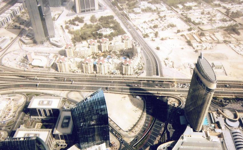 124th floor of Burj Khalifa in Dubai