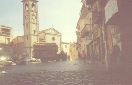 Piazza Dante Alighieri, Mottafollone, Calabria