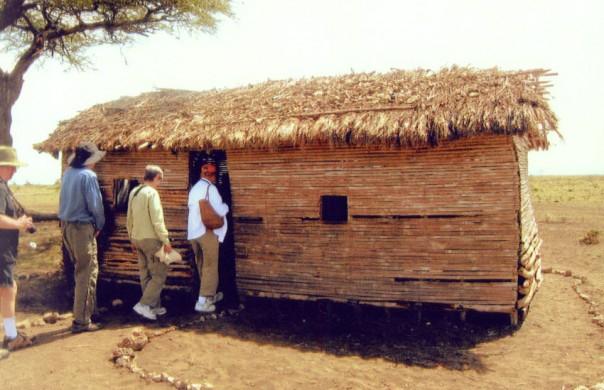 A one room school in Kenya, East Africa