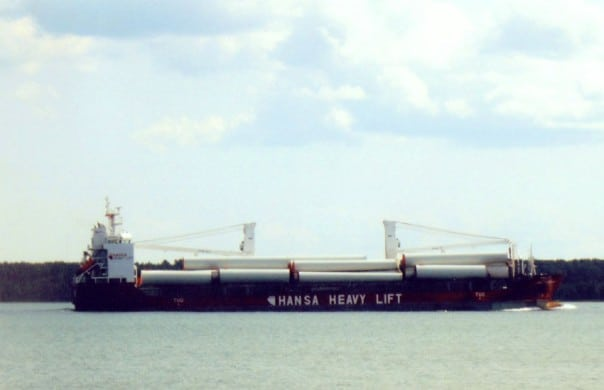 Freighters on the St. Mary's River