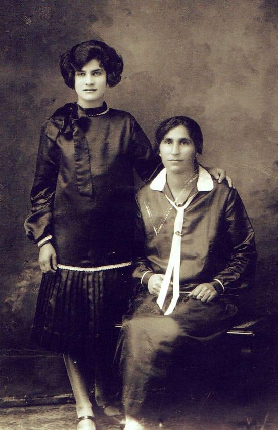 Nana Caterina and Elvira