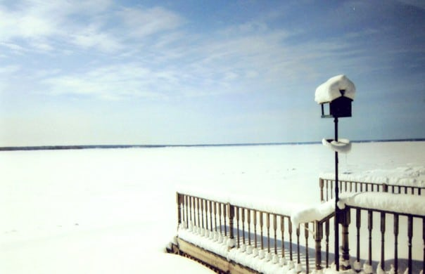 Winter Lake in Ontario