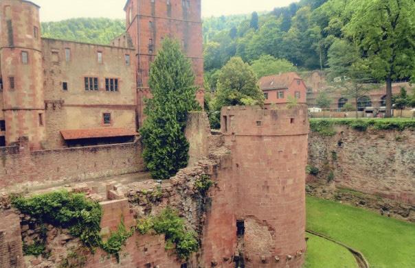 Heidelberg Schloss Medieval Castle