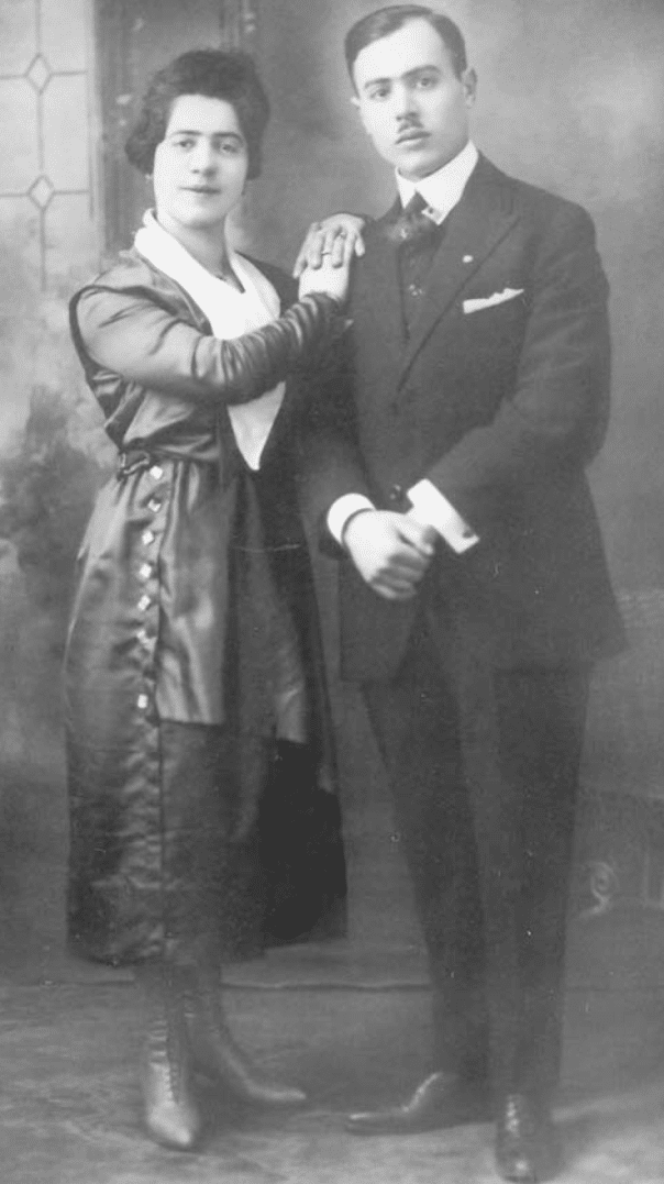 ROSINE MANDIA AND PIETRO LIMA 1918