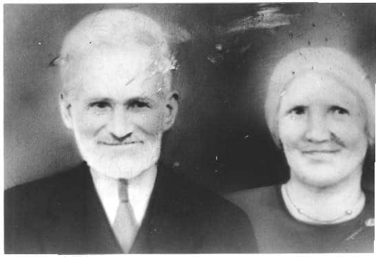 My great-grandparents, Maria Concetta Gigliotti and Luigi Maria Perri. Taken circa 1910 in Calabria, Italy.