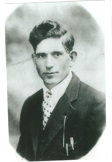 My grandfather, Pietro Perri. Taken circa 1915 in Sault Ste. Marie, Ontario.