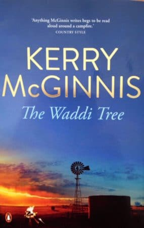 Kerry McGinnis: The Waddi Tree Novel Cover