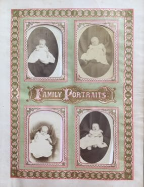 Ancestral Family Photographs from Bible.