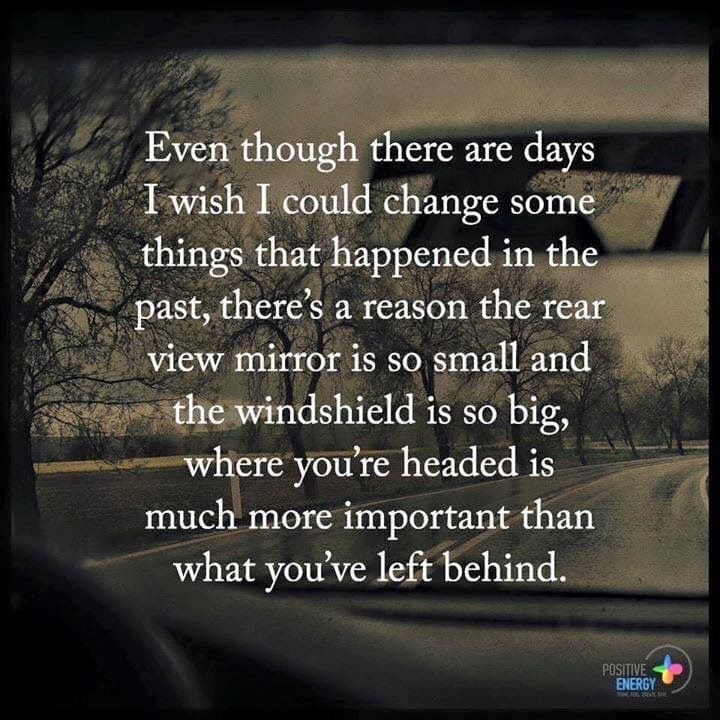 Even though there are days….