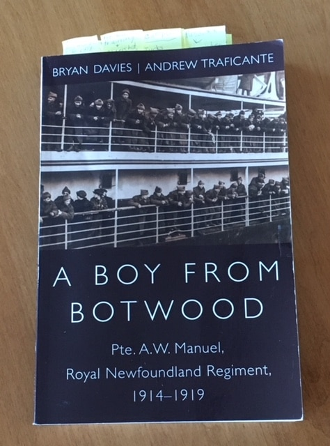 Book Musings: A Boy From Botwood by Bryan Davies and Andrew Traficante