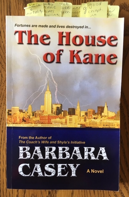 Book Musings: The House of Kane by Barbara Casey